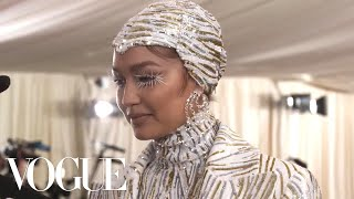 Gigi Hadid on Her Cher and Liberace-Inspired Met Gala Look | Met Gala 2019 With Liza Koshy | Vogue