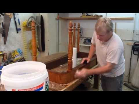 CLEANING  FURNITURE WITH TSP , ANTIQUE RESTORATION