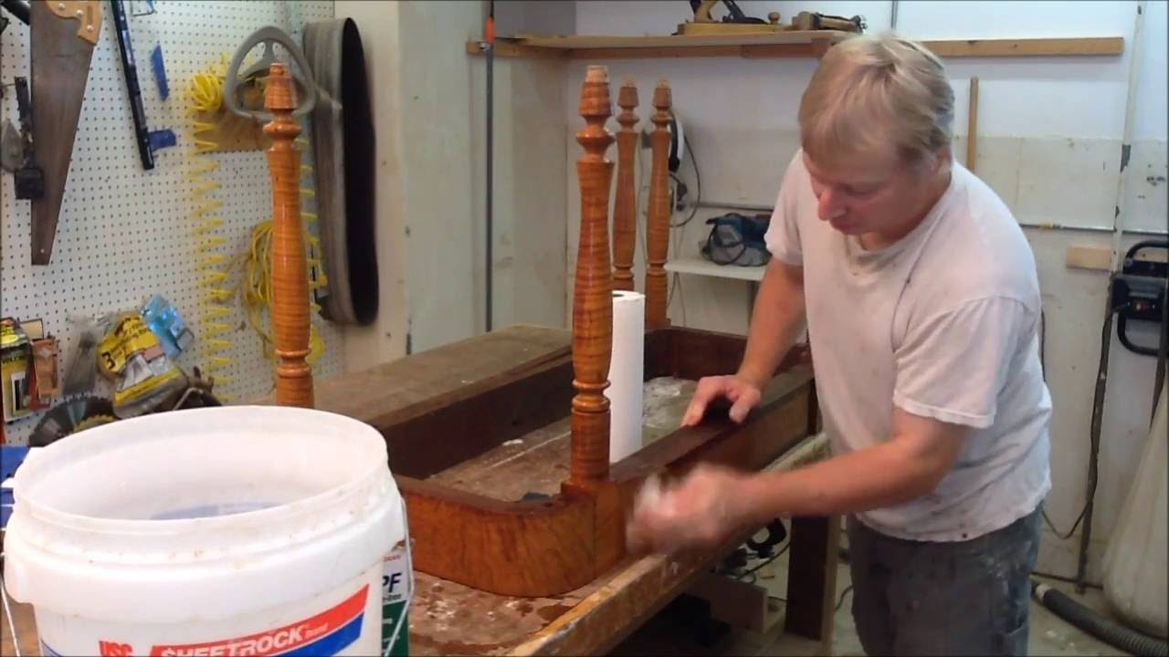 cleaning furniture with tsp   antique restoration youtube