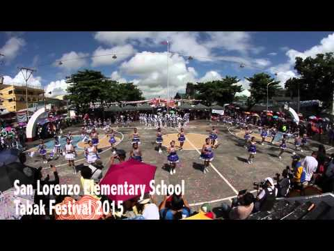 Tabaco Festival 2015 : San Lorenzo Elementary School