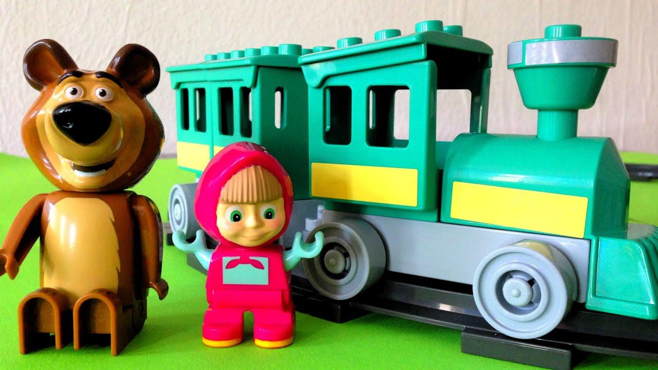 заметные полоски маша и медведь на поезде картинки часть революционеров