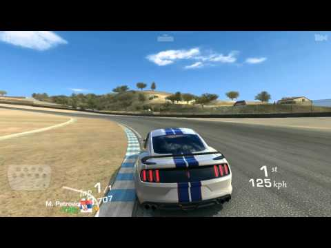 Real Racing 3 Ford Shelby GT350R Gameplay