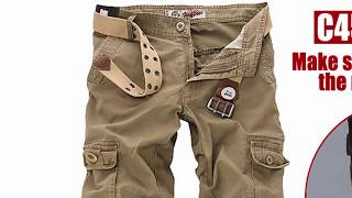 Men cargo pants - Most Popular cargo pants Brands! key of Awesome #01