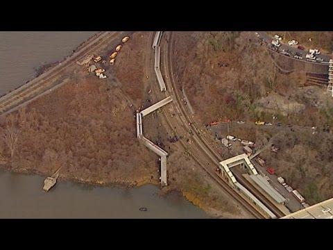 Metro-North Poughkeepsie to Grand Central Terminal Passenger Train Derails in Bronx New York