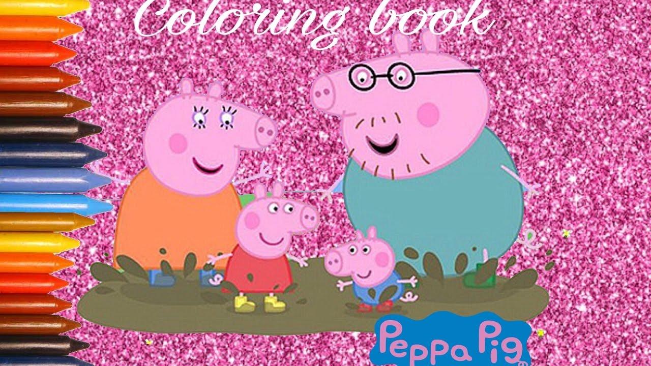 Peppa pig da colorare peppa pig italiano disegni da for Maschere di peppa pig da colorare