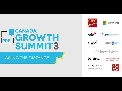 Canada Growth Summit 3: Going the Distance