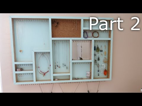 Plywood Jewelry Holder - Part 2