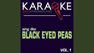 Gone Going (In the Style of Black Eyed Peas) (Karaoke Instrumental Version)