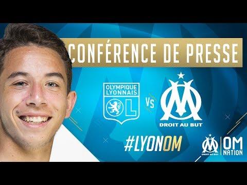Lyon - OM | La conférence de presse de Maxime Lopez