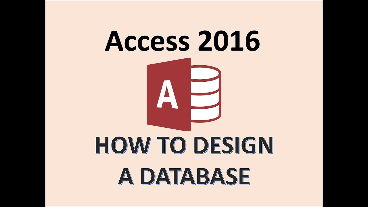 Access 2016 - Tutorials for Beginners - How To Create, Start, and Design Database Tutorial - MOS 365