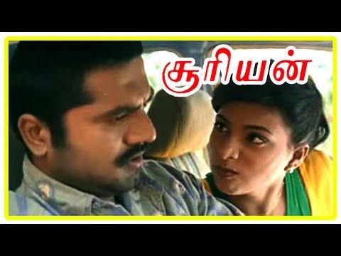 Suriyan Tamil Movie | Scenes | Roja realises that Sarath Kumar is Police