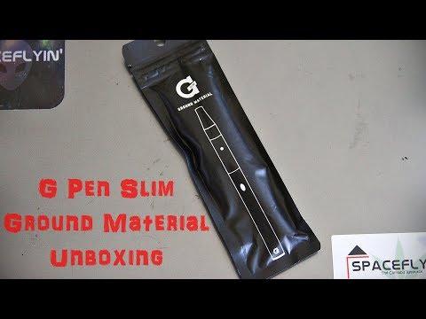 G Pen Slim Ground Material Unboxing – Spaceflyin'