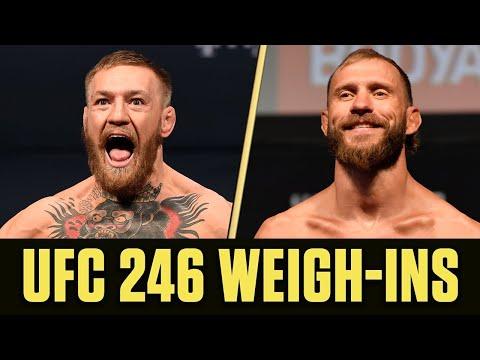 UFC 246 Weigh-Ins: