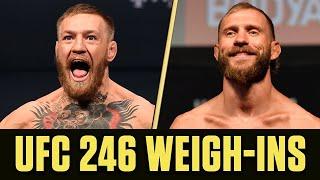 Download UFC 246 Weigh-Ins: Conor McGregor vs. Donald 'Cowboy' Cerrone Mp3 and Videos