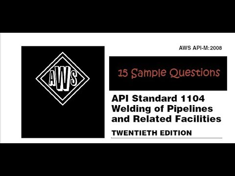"CWI Part C Sample Questions 15 ""Certified Welding Inspector"""