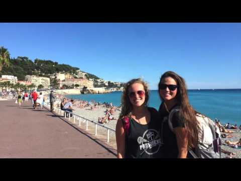 Backpacking in Nice