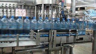 видео Как проводится газирование воды?