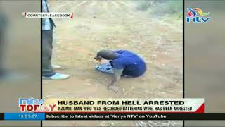 Daudi Nzomo, man who was recorded battering wife, arrested