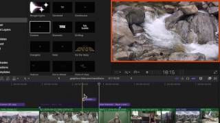 Final Cut Pro X 203: Graphics Titles and Transitions - 3. Basic Title  Text Controls