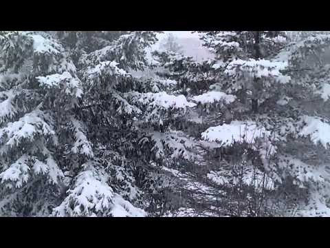 Snow video with song TRADITIONS OF CHRISTMAS - Chip Davis