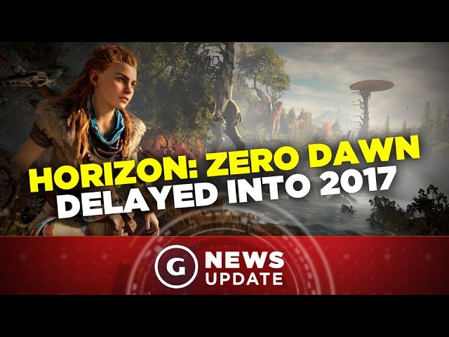 Horizon Zero Dawn Delayed - GS New Update
