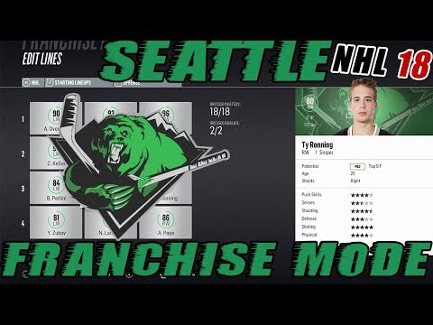 "NHL 18: Seattle Franchise Mode #22 ""EPIC PLAYOFF RUN"""