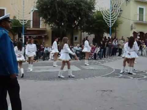 CAMPOLI A BANDA MUSICALE CON MAJORETTES 01 09 12 1^ Parte