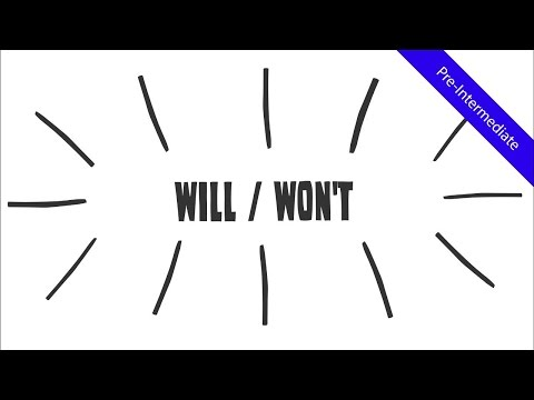 Future Simple Tense - Will Won't: Creative ESL Whiteboard Animation Video (Fun for the whole class!)