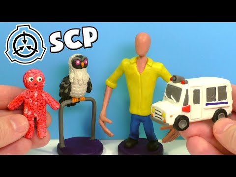 SCP-1386 Фургон з морозивом, SCP-3008 працівник IKEA, SCP-1049 Сова Костоїд і SCP-3565 М'ясний малюк