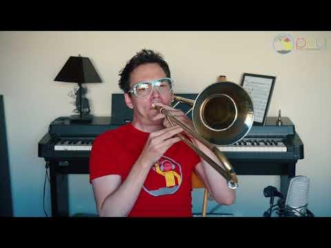 Jazz Trombone Solo - Speak Low