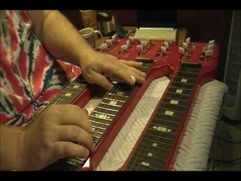 Review of triple neck steel guitar, cheap on Ebay