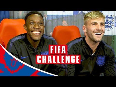 "FIFA 19: Welbeck vs Shaw | ""Bare Button Bashing!"" | FIFA Challenge"