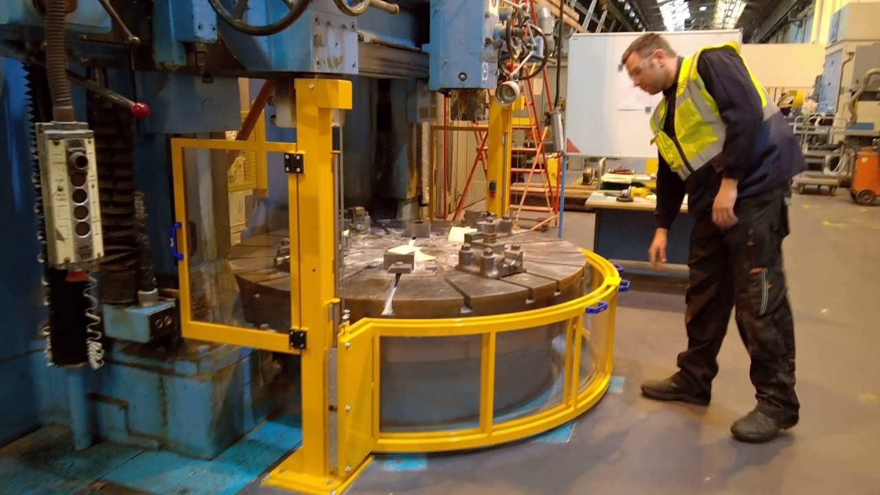 Vertical Turning Lathe Guards And Vertical Boring Machine