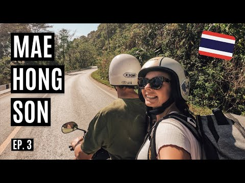 MAE SARIANG TO MAE HONG SON | Scooter Ride In Thailand