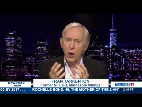 "Newsmax Now | Fran Tarkenton discusses his book, ""The Power of Failure"""