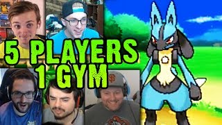 2ND GYM STRUGGLES! | Cutthroat Pokemon X and Y 5-Player Nuzlocke Versus | #6