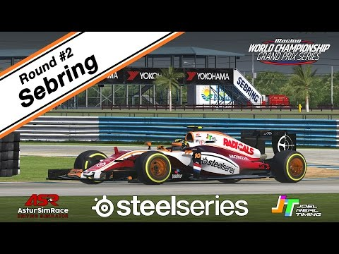2017  iRacing F1 WC GP Series #2 Sebring