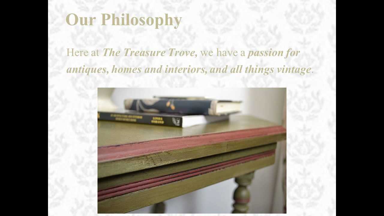 The Treasure Trove   Shabby Chic U0026 Vintage Furniture   About Us Video