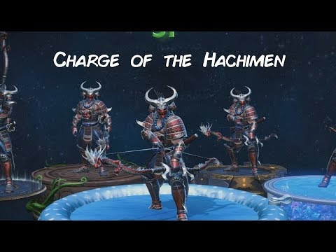 Charge Of The Hachimen - (All Hachiman All Out Assault Montage)