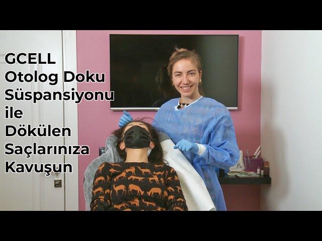 Gcell Otolog Doku Süspansiyonu ile Dökülen Saçlarınıza Kavuşun