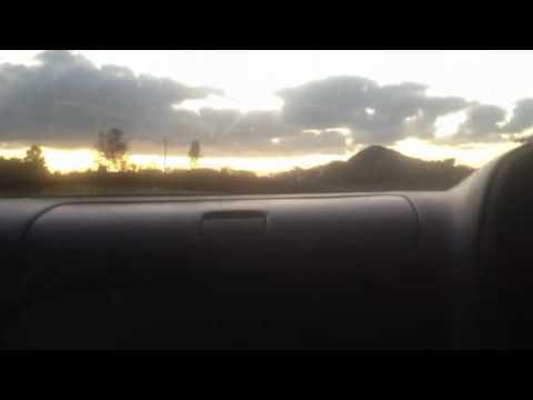 DRIVING TOWARDS HARARE FROM NYAMAPANDA AT 1830hrs