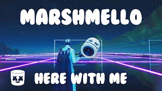 Marshmello Here With Me - Fortnite Creative Music Block Song Video