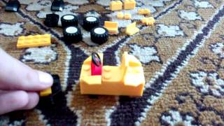Как сделать квадроцикл из конструктора LEGO