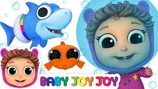 Baby Shark Sea Creatures | Learn Sea Animals | Educational