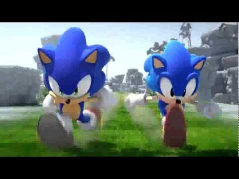 Sonic Generations Trailer #1 - Sonic 20th Anniversary Teaser!