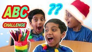 ABC Challenge twist fun family game for kids   one minute ABC YouTube kids SMASHBOXTOYZ