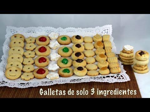 Cookies of 3 ingredients