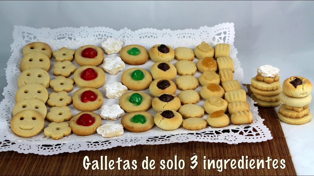 Cookies Of 3 Ingredients