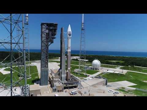Download Youtube: Aerial Views of Atlas V TDRS-M