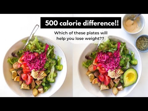 500 calorie vs 1000 calorie salads why you can't lose weight as a vegan